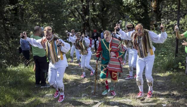 Ochagavía vivió este sábado, 8 de septiembre, su segunda jornada festiva. Las fiestas patronales se prolongarán hasta el martes 11 de septiembre