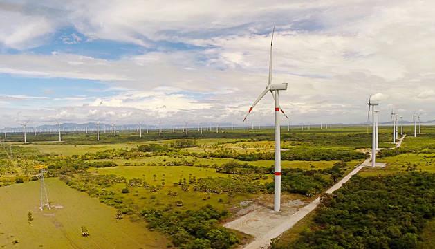 Parque eólico de Naturgy.
