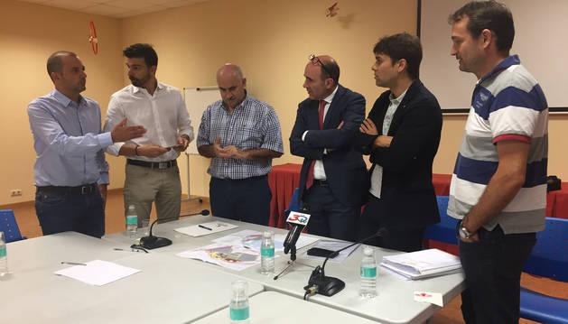 El Gobierno da los primeros pasos para iniciar el nuevo polígono industrial de Lodosa