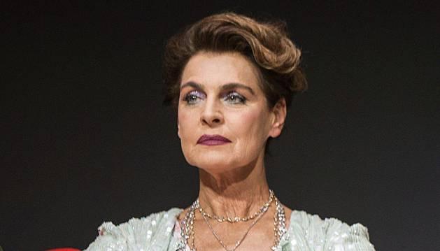 Antonia Dell'Atte, en la presentación de 'Masterchef Celebrity'