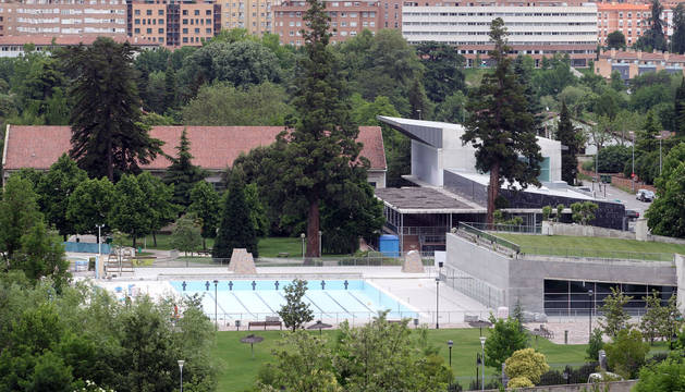 Unas obras de urgencia en las piscinas cubiertas de for Piscinas cubiertas tudela