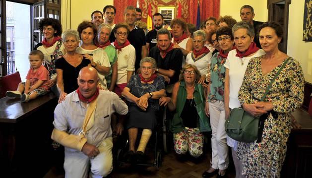 Fotos de las fiestas de Olite el día del cohete, 13 de septiembre de 2018