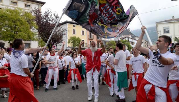 La localidad de Alsasua inició este jueves su programa festivo.