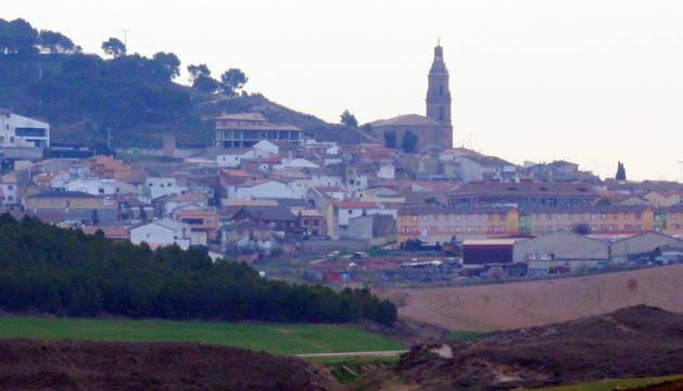 Vista de Larraga.