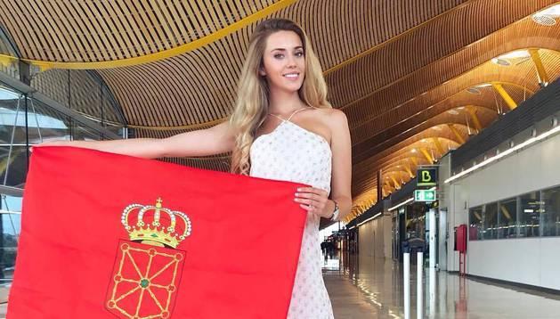 La navarra Amaia Izar representará a España en la gala Miss Mundo.