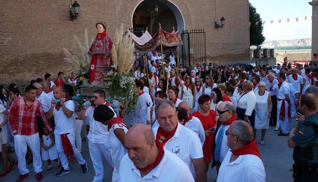 Fotos del homenaje a los deportistas locales en las fiestas de Villafranca, 16 de septiembre de 2018