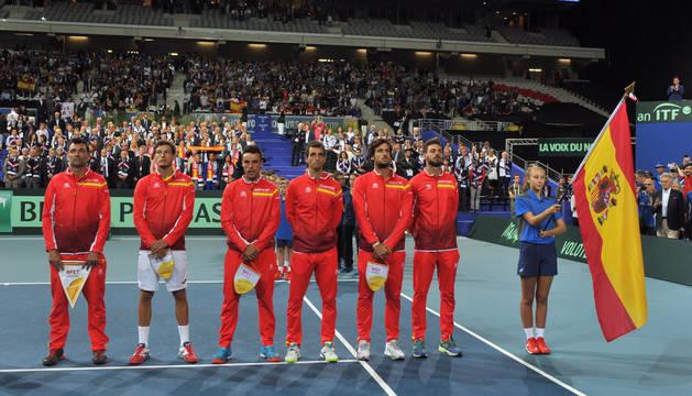 Equipo español de Copa Davis.