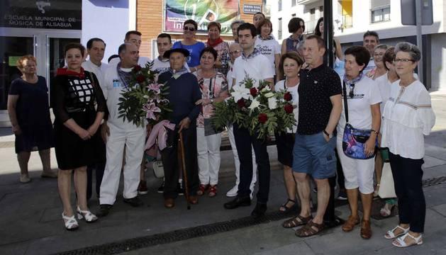 Alsasua despide sus fiestas con el homenaje a los mayores de la localidad