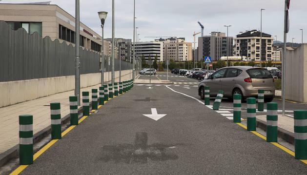 Policía Local busca fomentar el aparcar en calles colindantes al centro escolar.