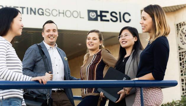 Exterior de ESIC Business & Marketing School.