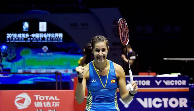 Carolina Martín conquista el Abierto de China, su cuarto título esta campaña