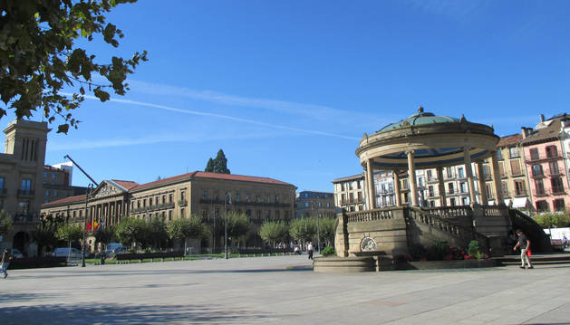 El ambiente frío de las primeras horas dará paso a un martes soleado en Navarra