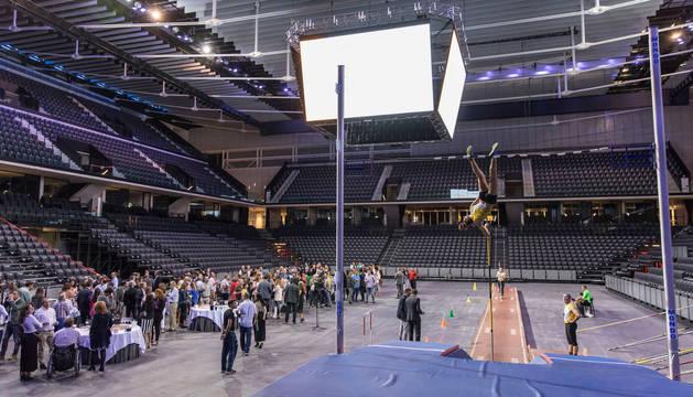 La empresa de selección de personal festejó este martes su 25 aniversario; su celebración fue el primer acto del Arena.
