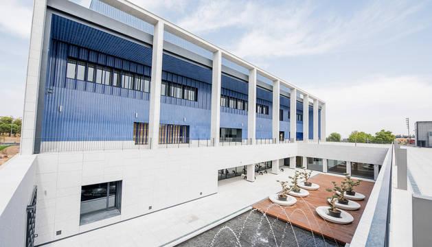 El nuevo edificio de postgrados de la Universidad de Navarra en el campus de Madrid.