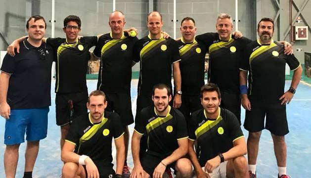 Miembros del equipo Aranguren Pádel Club.