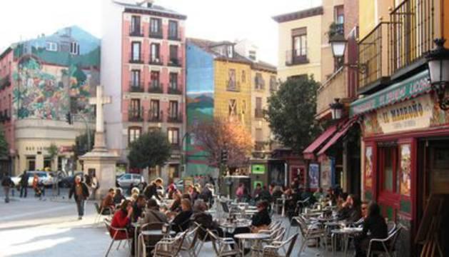 En el barrio madrileño de Embajadores
