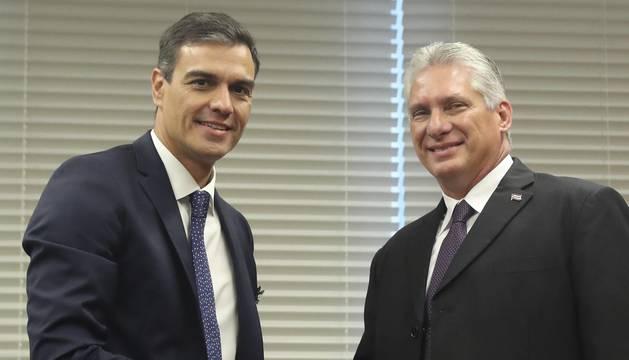 Sánchez visitará oficialmente Cuba tras aceptar la invitación de Díaz-Canel