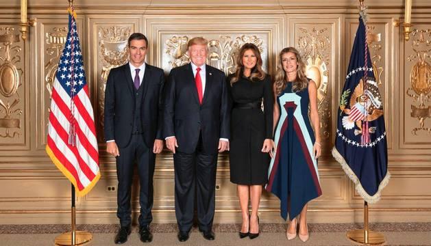 La foto oficial en la Casa Blanca