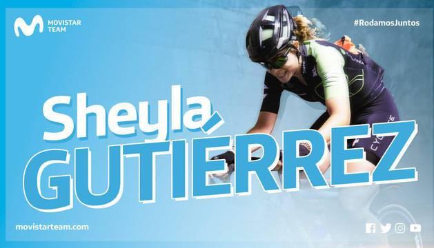 Sheyla Gutiérrez ficha por el Movistar Team