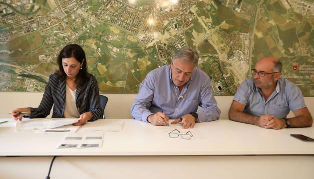 El Operador Energético de Pamplona se ha constituido este miércoles oficialmente con la firma de las escrituras.