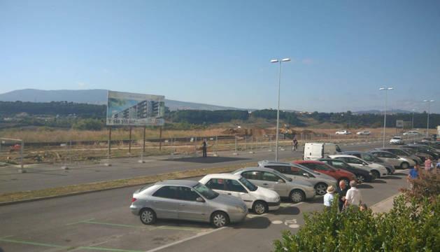 Este jueves, fueron talados los árboles de la avenida de Pamplona.