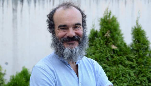 Oskar Alegria, en una imagen reciente en Pamplona.