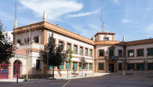 Estado actual de la casa de la juventud y centro cívico Lestonnac que  ahora se va a rehabilitar.