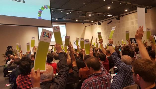 EH Bildu ha iniciado el procedimiento para la elección de candidatos a las elecciones municipales y forales y las elecciones europeas