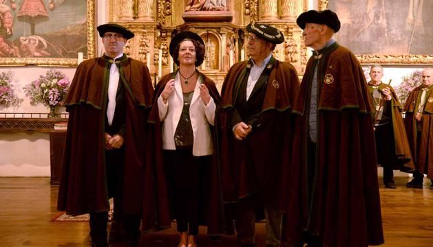 Imágenes de la celebración del Día de la Cofradía del hongo en Elgorriaga, este domingo, 30 de septiembre