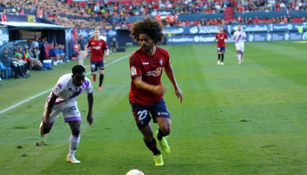 Imágenes del partido disputado en El Sadar entre el Osasuna y el Numancia el 30 de septiembre de 2018.