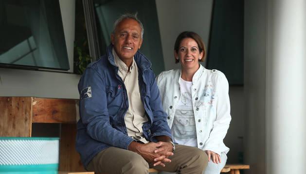 Raimon Pelach y Beatriz Rodríguez Pérez, pediatras.
