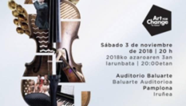 foto de Cartel del concierto participativo 'Grandes coros de ópera' que se celebrará en Baluarte.