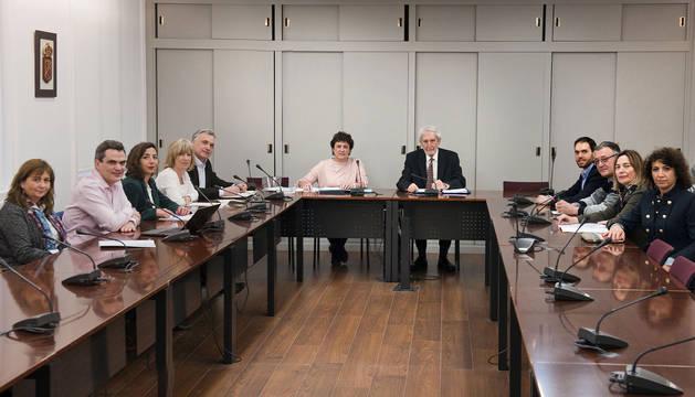 foto de Sesión del Consejo de la Transparencia de Navarra.