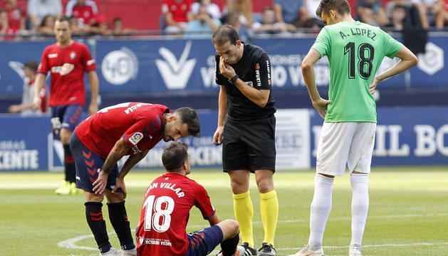 Juan Villar se retiró del campo el 8 de septiembre por unas molestias musculares de las que no se ha recuperado.