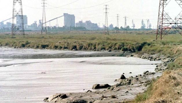 La balsa de fosfoyesos de Huelva, una de las áreas radiactivas señaladas por le CSN.