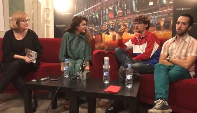 Rueda de prensa completa de Amaia Romero en el Teatro Gayarre