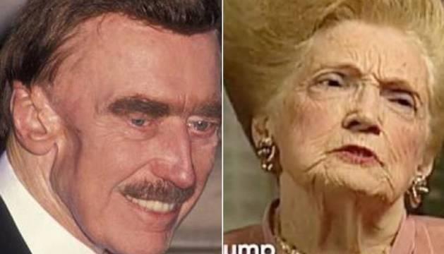 Fred y Mary Anne Trump