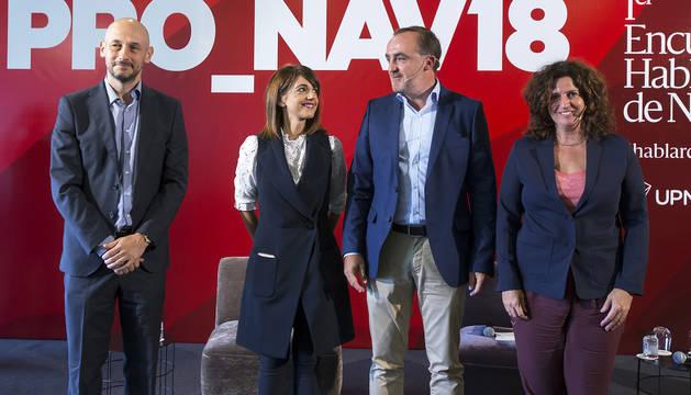 Esparza quiere recuperar el orgullo de ser navarros y una Navarra respetada