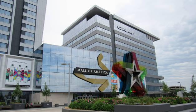 La entrada del Mall of America, en Bloomington, Minnesota.