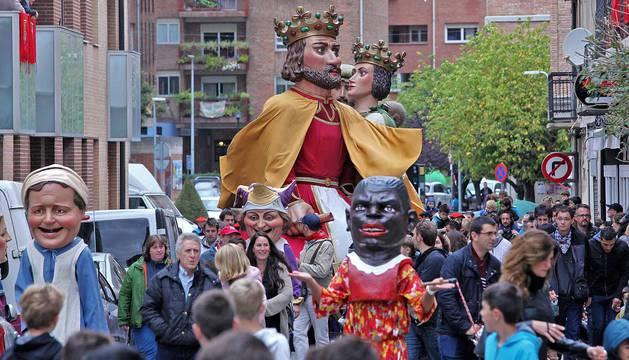 Fotos del día grande de fiestas de Villava