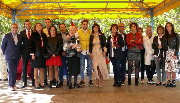 La localidad ribera celebró este domingo la XII edición de un acto que premió a Felisa Goñi Ezcurra, responsable del hotel Venta de Ulzama