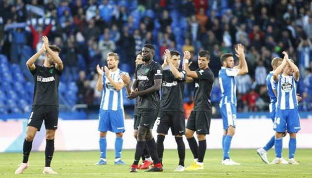El Málaga sale reforzado en el liderato de Segunda División tras empatar en Riazor