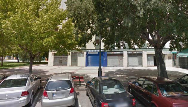 Administración de la calle Villafranca donde se ha emitido el boleto de la Bonoloto premiado.