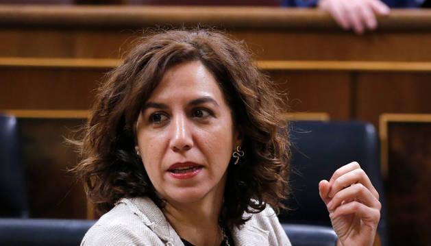 Irene Lozano, en el Congreso de los Diputados