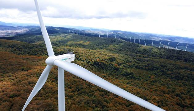 foto de Parque eólico de Siemens Gamesa.