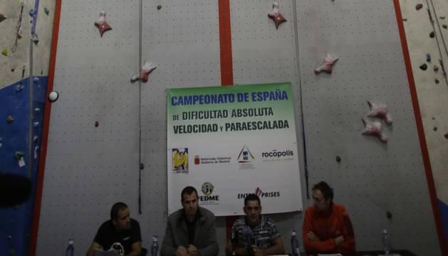 El muro de escalada de velocidad, único en España y 11º del mundo.