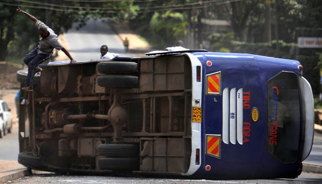 Bus accidente foto kenia