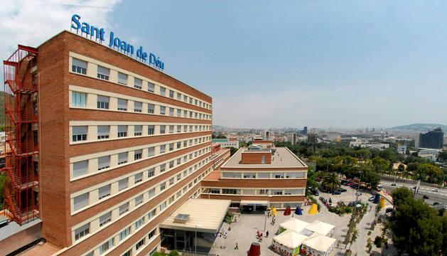 Vista del Hospital Sant Joan de Déu en Barcelona.