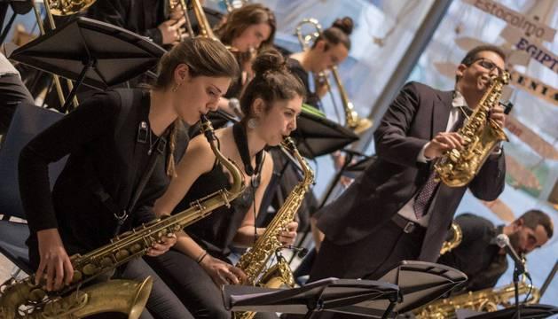 El concierto en mayo en la Biblioteca de Navarra de la formación creada por Iñaki Rodríguez con sus alumnos hace 4 años que le ha llevado al nacimiento de la asociación.