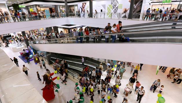 Imagen de un centro comercial en Córdoba.